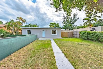 North Miami Single Family Home For Sale: 530 NW 130th St
