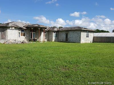 Homestead Single Family Home For Sale: 34800 SW 214th Ave