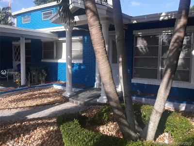 Wilton Manors Single Family Home For Sale: 3001 NE 1st Ter