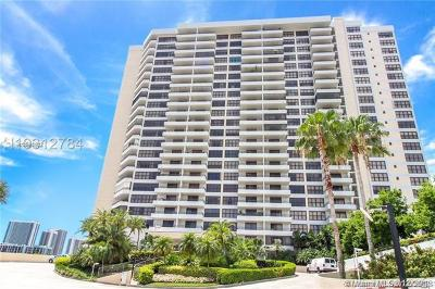 Hallandale Condo For Sale: 2500 Parkview Dr #2206