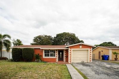 Broward County Single Family Home For Auction: 516 SW 73rd Ave