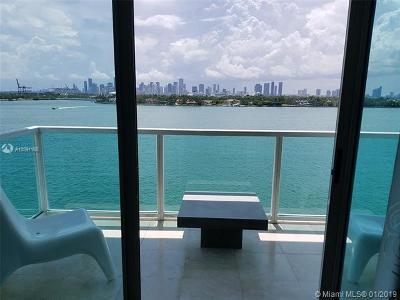 Miami Beach Condo For Sale: 650 West Ave #803