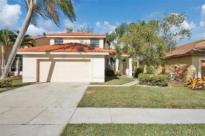Pembroke Pines Single Family Home For Sale: 18235 NW 21st St