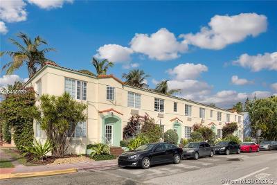 Miami Beach Condo For Sale: 741 15th Str #6