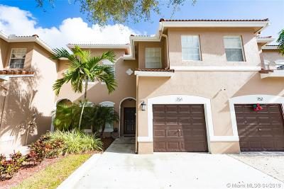 Plantation Condo For Sale: 754 NW 132nd Ter