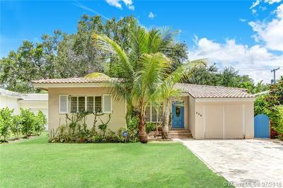 Coral Gables Single Family Home For Sale: 808 Obispo Ave.