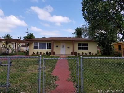 North Miami Beach Single Family Home For Sale: 16133 NE 8th Ave