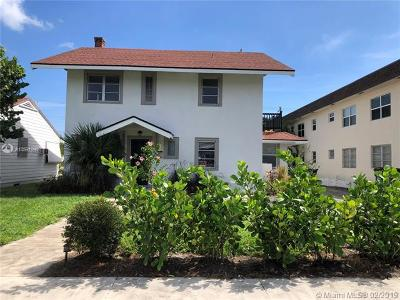 Lake Worth Single Family Home For Sale: 226 S Lakeside