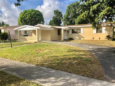 Lauderhill Single Family Home Active With Contract: 4931 NW 12th St