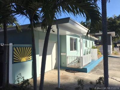 Fort Lauderdale Single Family Home For Sale: 2708 N Ocean Blvd