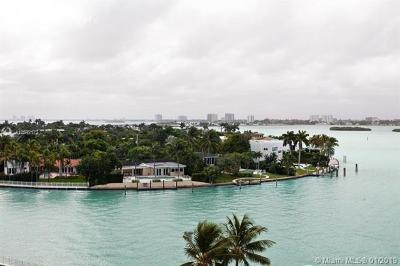 Bay Harbor Islands Condo For Sale: 10350 W Bay Harbor Dr #7N