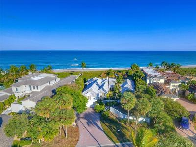 Jupiter Single Family Home For Sale: 23 Ocean Drive
