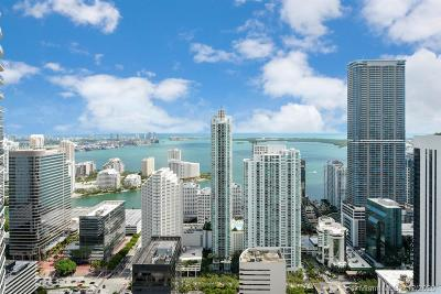Miami-Dade County Condo For Sale: 45 SW 9th St #4901