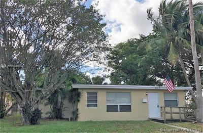 Fort Lauderdale Single Family Home For Sale: 2342 NW 13th St