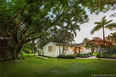 Coral Gables Single Family Home For Sale: 1400 Obispo Ave