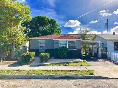 West Palm Beach Single Family Home For Sale: 1022 17th St