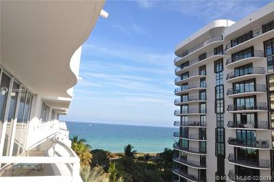 Surfside Condo For Sale: 8911 Collins Ave #601