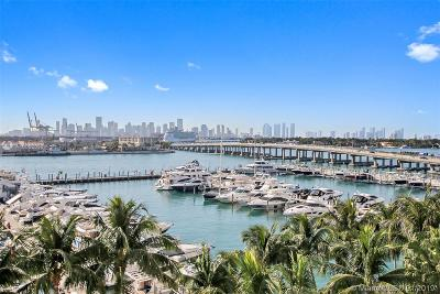 Miami Beach Condo For Sale: 400 Alton Rd #603