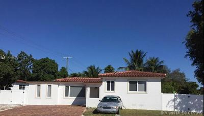 North Miami Single Family Home For Sale: 12505 NE Miami Pl
