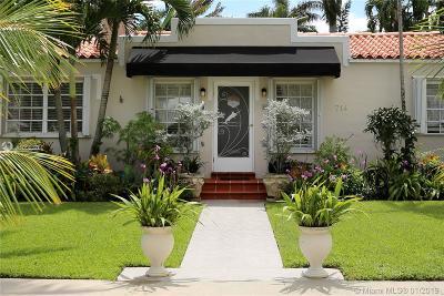 Single Family Home For Sale: 714 NE 73rd Street