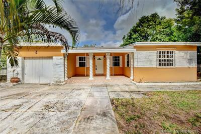 North Miami Beach Single Family Home Active With Contract: 1825 NE 154th St