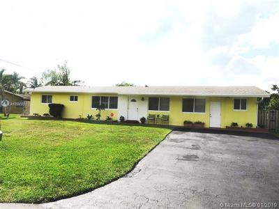 Davie Single Family Home For Sale: 4757 SW 72nd Ave