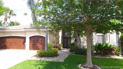 Boca Raton Single Family Home For Sale: 21830 Cypress Palm Ct