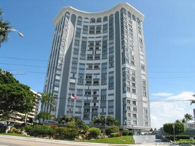 Pompano Beach Condo For Sale: 1340 S Ocean Blvd #1409