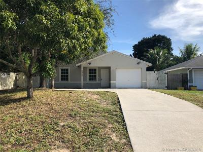 Delray Beach Single Family Home For Sale: 2380 Zeder Ave
