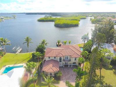 Jupiter Single Family Home For Sale: 9400 SE Point Ter