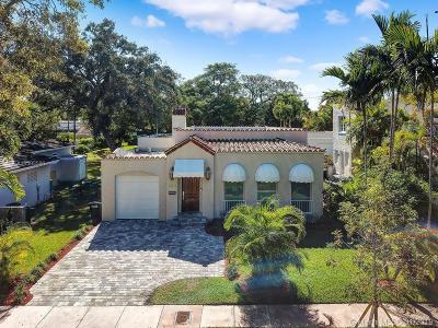 Coral Gables Single Family Home For Sale: 1404 Obispo Ave