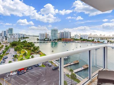 Miami Beach Condo For Sale: 1800 Sunset Harbour Dr #1201
