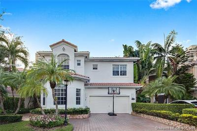 Sunny Isles Beach Single Family Home For Sale: 19442 38th Ct