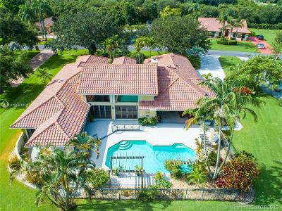 Davie Single Family Home Active With Contract: 13501 SW 34th Ct
