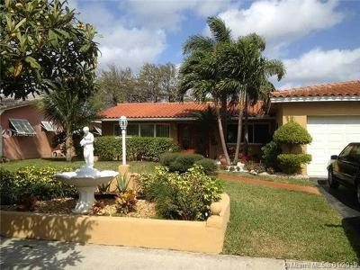 Hollywood Single Family Home For Sale: 5423 Garfield St