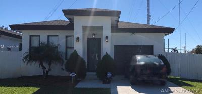 Hallandale Single Family Home Sold: 729 NW 7th St