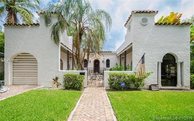 Coral Gables Single Family Home For Sale: 439 Minorca Ave