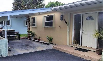 North Miami Beach Single Family Home For Sale: 18131 NE 10th Ave