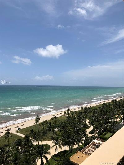Bal Harbour Condo For Sale: 10185 Collins Ave #1418
