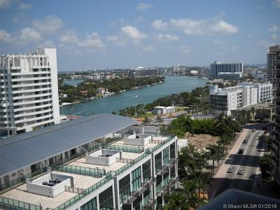 Miami Beach Condo For Sale: 6039 Collins Ave #1628