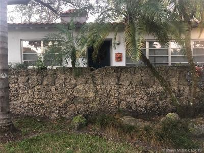 Coral Gables Single Family Home For Sale: 1075 Sunset Drive