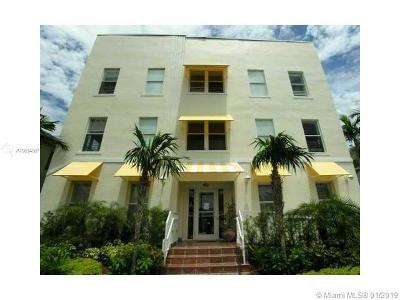 Miami Beach Condo For Sale: 1521 Lenox Ave #109