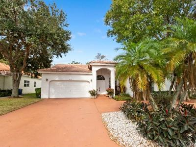 Coral Springs Single Family Home For Sale: 5719 NW 54th Pl