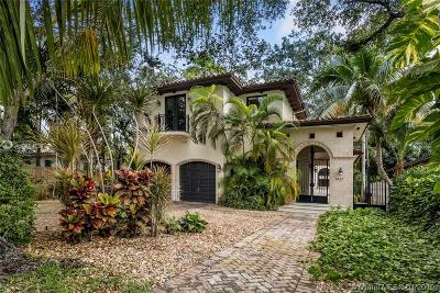 Coconut Grove FL Single Family Home For Sale: $1,598,000