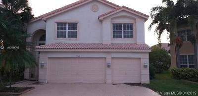 Miramar Single Family Home For Sale: 17360 SW 32nd Ct