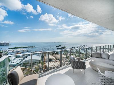 Miami-Dade County Condo For Sale: 2675 S Bayshore Dr #1901S