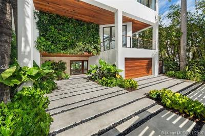 Miami FL Single Family Home For Sale: $4,999,500