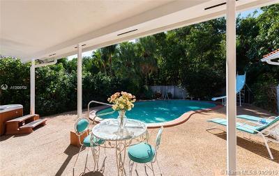 North Miami Single Family Home For Sale: 11520 N Bayshore Dr