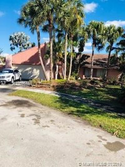 Plantation Single Family Home For Sale: 510 NW 78th Way