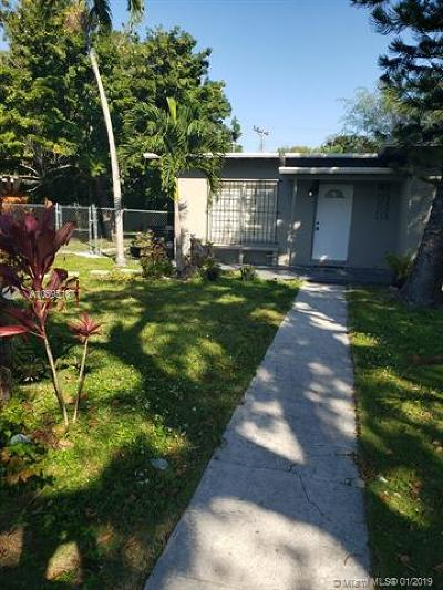 North Miami Single Family Home For Sale: 1255 NW 121st St